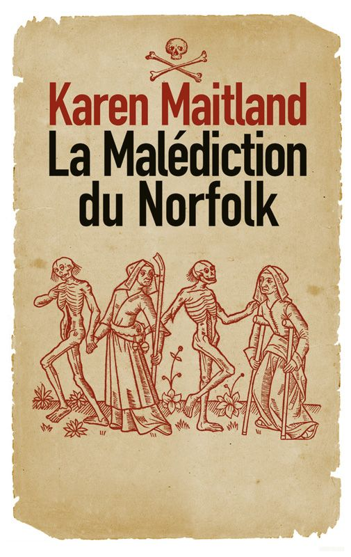 La malédiction du Norfolk - Karen Maitland. Livre, 816 Pages, Couverture souple. #roman #Malédiction