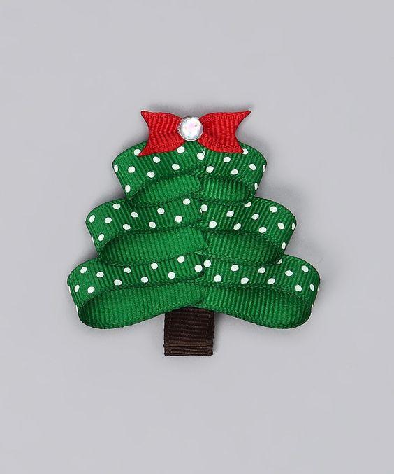 Christmas Tree Bow--too cute!