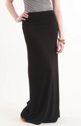 Needing a new extra long Black Maxi Skirt | Dress Up & Get Down ...