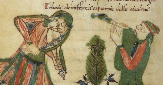 <p>Graduel de Nevers Source: gallica.bnf.fr Bibliothèque nationale de France, Département des manuscrits, Latin 9449, fol. 34v.</p>