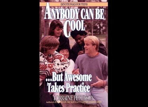 devotionals for teens...i wish i could go back and learn to be awesome.