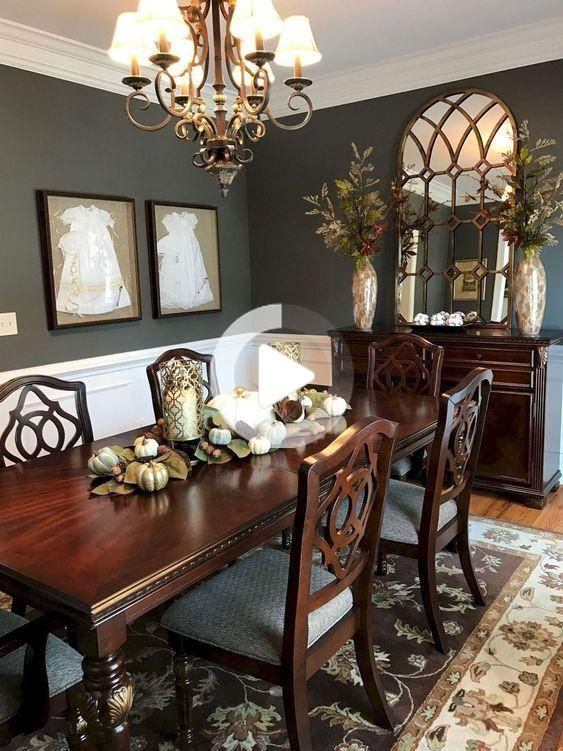 Dining Room Wall Decor, Traditional Dining Room Table Decor