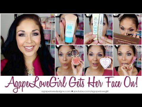 AgapeLoveGirl Gets Her Face On - YouTube