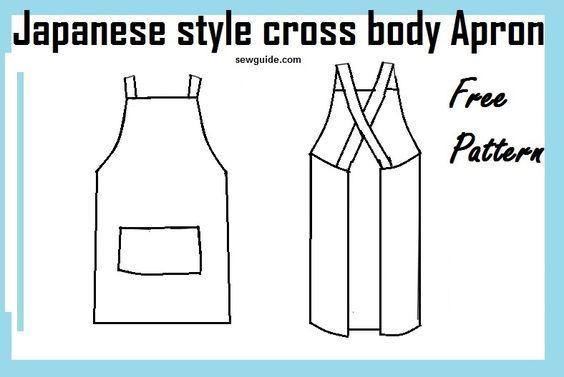 Pinafore apron pattern free