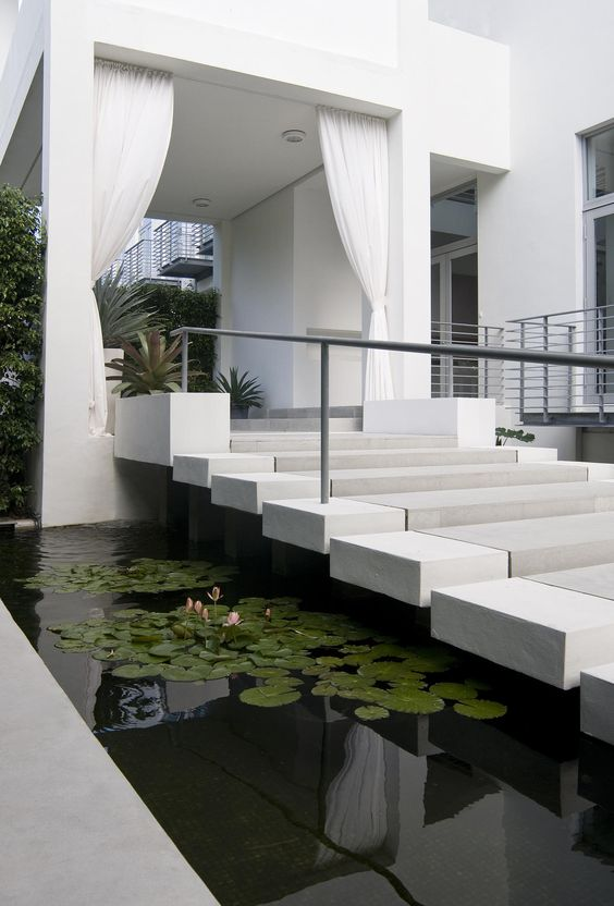 Modern Entrance Design by Brown Davis Interiors