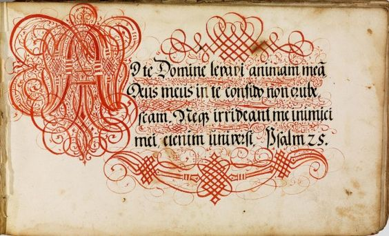 Type from the 16th century.