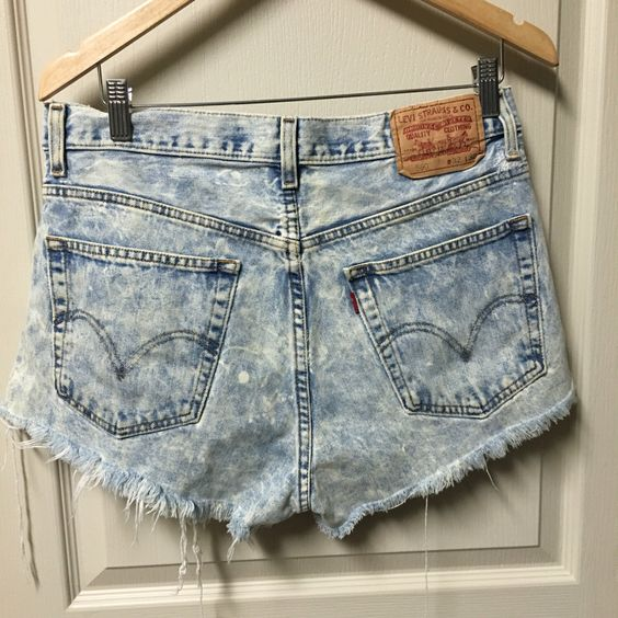 A personal favorite from my Etsy shop https://www.etsy.com/listing/457854110/cut-off-levis-vintage-high-waisted