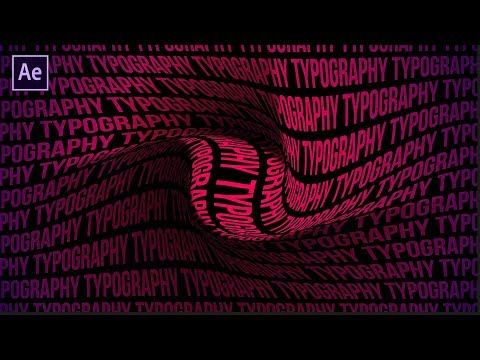 After Effects Tutorial Typography Background Animation In After Effects No Plugins Youtube After Effect Tutorial Photoshop Tutorial Typography Typography