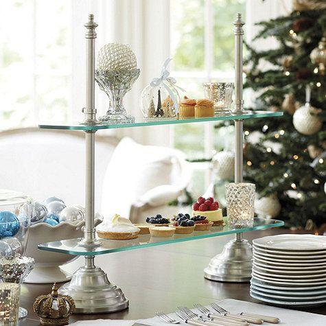 Patisserie Glass Serving Stand by Ballard Designs  I  ballarddesigns.com
