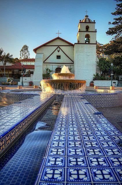 Mission San Buenaventura, Ventura, California by ...-Wink-...