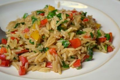 Spinach Orzo with Teriyaki Glaze (Macaroni Grill Knock-Off) | Tasty Kitchen: A Happy Recipe Community!