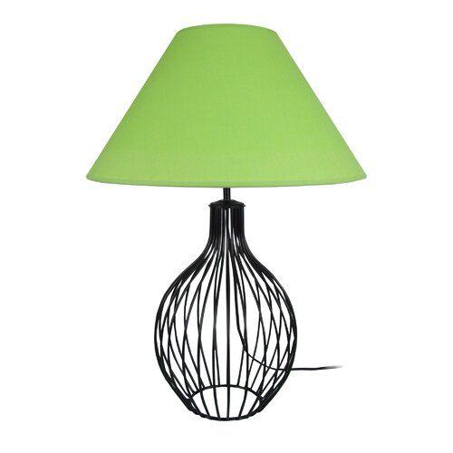 Pippin 62cm Table Lamp Mercury Row Base Colour Silver Shade