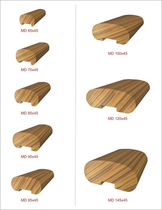 Best Wood Handrail Profiles Handrails Pinterest Stairs 640 x 480