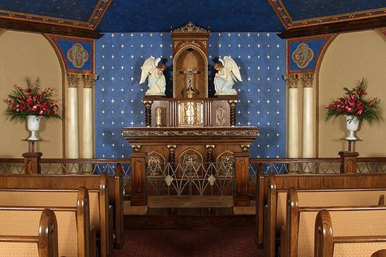 Mary, Mother of the Eucharist Chapel, St. Monica Parish, GA