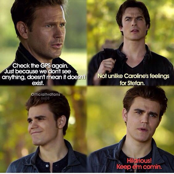 I was dying this entire time. And then when Damon made the bear talk and Alaric was like the bear speaks of the truth and stfan kicked the bear away from them cuz they were having WAY too much fun with it.