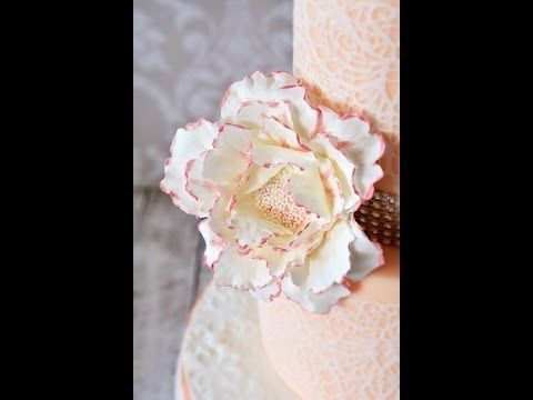 Fondant blumen selber machen dekoration youtube for Dekoration blumen