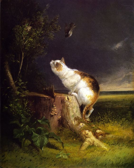 The Birdwatcher - William Holbrook Beard 1863: