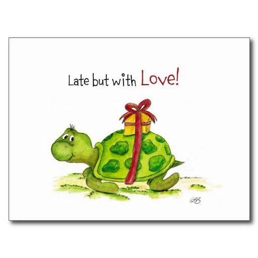 feliz cumpleaños tarde tortuga - Buscar con Google