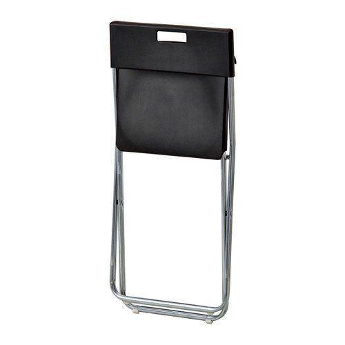 Ikea Gunde Folding Chair Black Black Folding Chair Chair Ikea