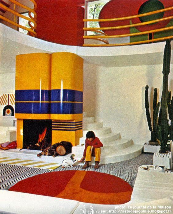 Chantilly - Maison d'Henri Delord  Décoration: Garrault-Delord: Henri Delord, Jean-Pierre Garrault  Création: 1972: