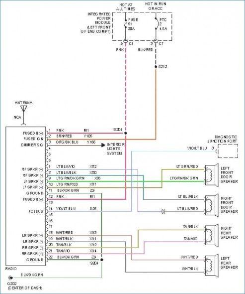 Dodge Stereo Wiring Diagram Di 2020