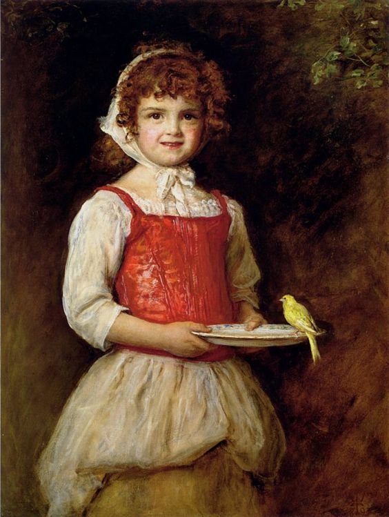 John Everett Millais (1829 – 1896) – Pintor Inglês_71