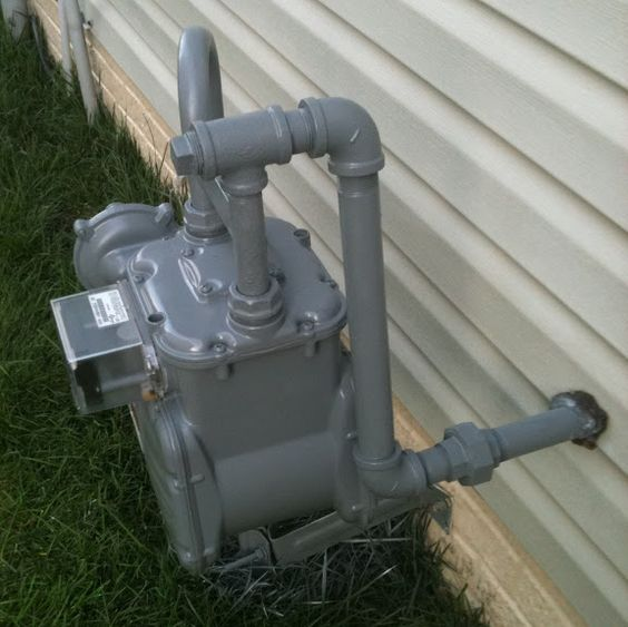 Painting Gas Meter Community Forums Diy Pinterest Interiors And Paintings