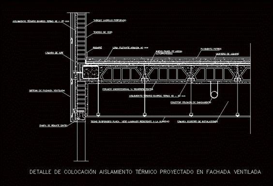 Cielorraso Suspendido Dwgdibujo De Autocad Arch