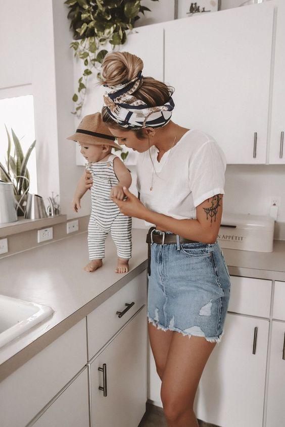 ¿#Mamá joven y sin tempo? Estos #peinados facilísimos te harán ver súper moderna y elegante en menos de 5 minutos, ¡perfectos para mamás ocupadas!