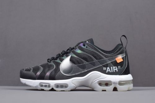 Real Off White x Nike Air Max Plus TN Ultra Iridescent Mens