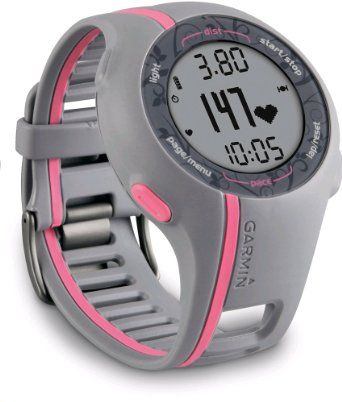 Garmin Forerunner 110 GPS Enabled Womans Sports Watch with Heart Rate Monitor: Amazon.co.uk: Electronics