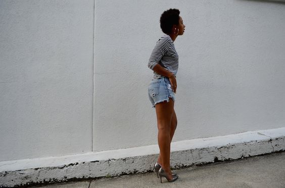 Denim Shorts | Believe in Style | Life & Style Blog