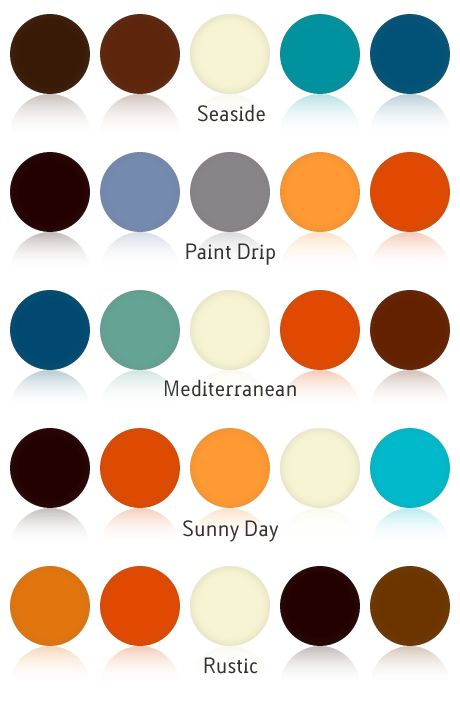 Really Organic Color Combinations Good To Know When