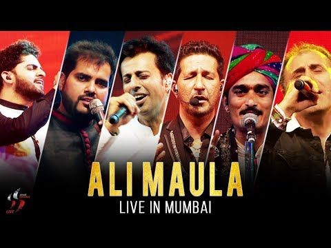 Ali Maula Kurbaan Salim Sulaiman Live Jubilee Concert Mumbai Youtube Islam