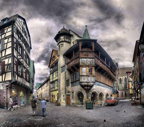 Colmar, Alsacia, La maison Pfister, France