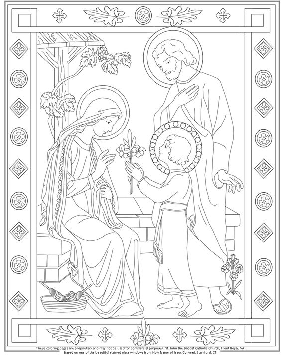 holy cross coloring pages - photo#32