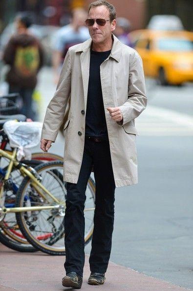 Kiefer Sutherland - Kiefer Sutherland Out in Tribeca
