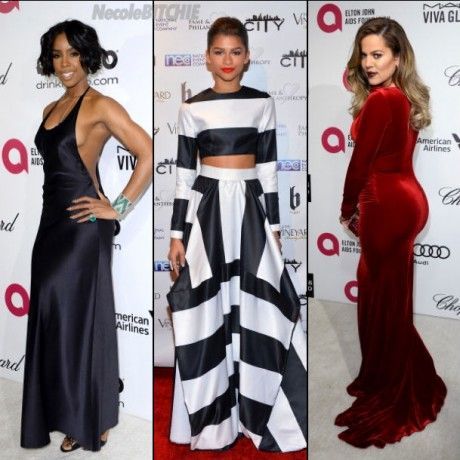 Celebs Hit The Red Carpet For Post-Oscar Parties
