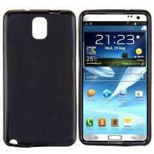 Capa Galaxy Note 3 - Gel Preta  R$21,92