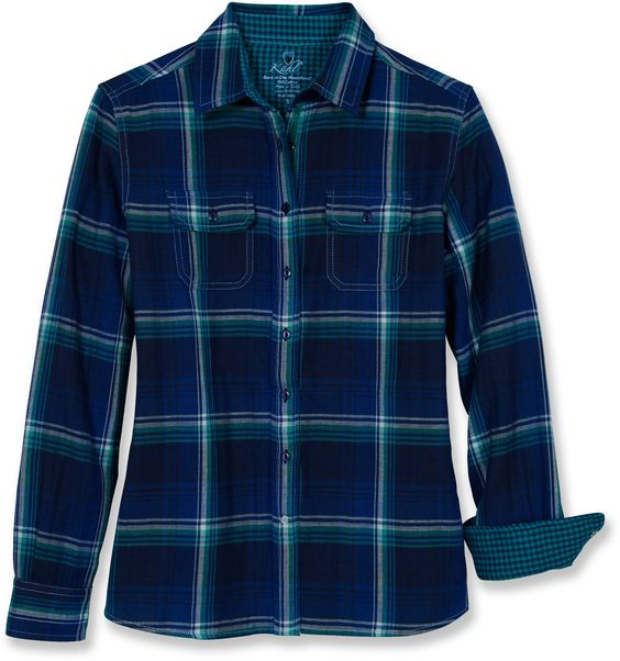 It's not my day-to-day style anymore, but I do miss having a flannel for the weekends. All my colors in this one!
