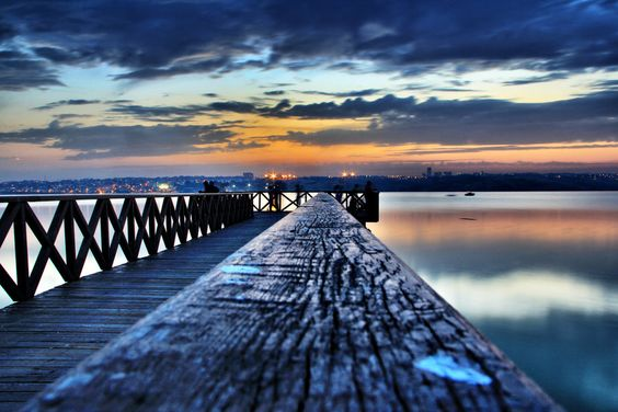 "K.Cekmece Lake Istanbul - ""autumn sunset"" by MustafaSEZER"