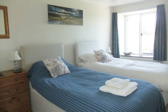 Blackator bedroom as a single room £32.50 per night