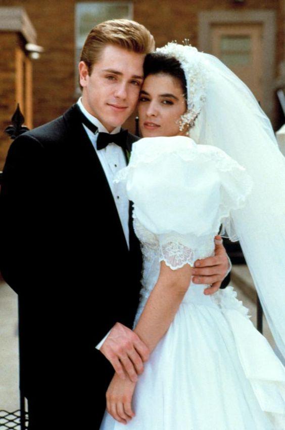 Ron Eldard and Annabella Sciorra in True Love (1989, dir. Nancy Savoca).