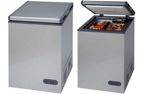 Avanti Cf35b2p 3 5 Cu Ft Steel Chest Freezer Chest Freezer Large Storage Baskets Chest Freezer Organization