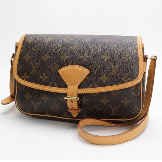 Louis Vuitton Sologne  Monogram Shoulder bags Brown Canvas M42250