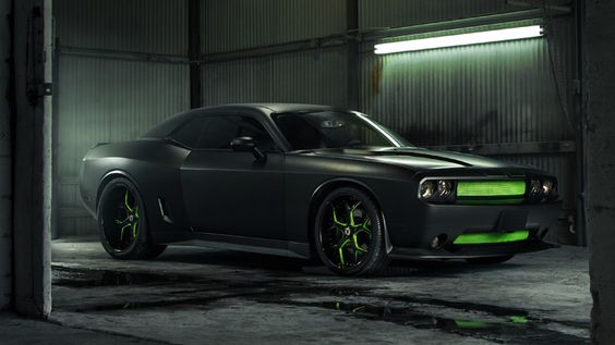 With less than 200 miles on it, this Challenger SRT8 392 underwent a widebody makeover from Abel's Body & Paint Shop.