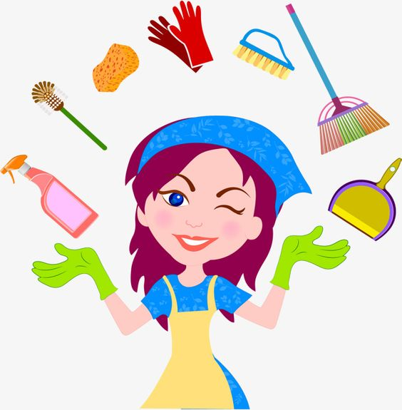 Millions Of Png Images Backgrounds And Vectors For Free Download Pngtree Cleaning Cartoon Clean House Cleaning Service