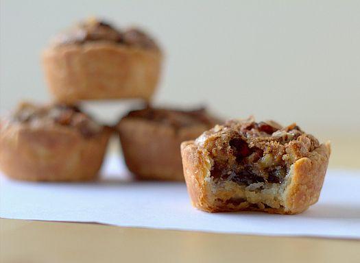 pecan tassies - mini pecan pies!