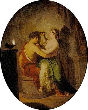 David Allen, 《The Origin of Painting》