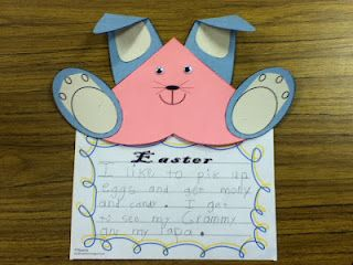 FREE Easter writing activity
